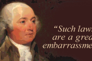 john adams on blasphemy
