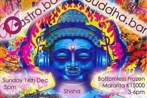 blue blasphemous Buddha of Burma